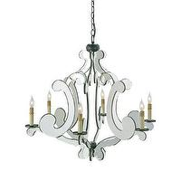Lighting - Currey & Company 9187 6 Light Bellamour Chandelier - Lighting Universe - currey & co., bellamour, chandelier