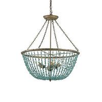 Lighting - Currey & Company 9765 3 Light Aqaba Chandelier Foyer Light - Lighting Universe - currey & co., aqaba, chandelier