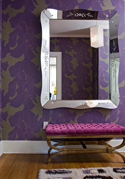 Purple Foyer Paint : Gilded mint chanel florence the machine