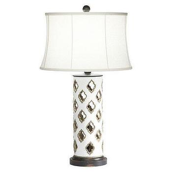 Lighting - ethanallen.com - ava cut terracotta table lamp | ethan allen | furniture | interior design - moorish tiles, ava, cut, terracotta, table, lamp