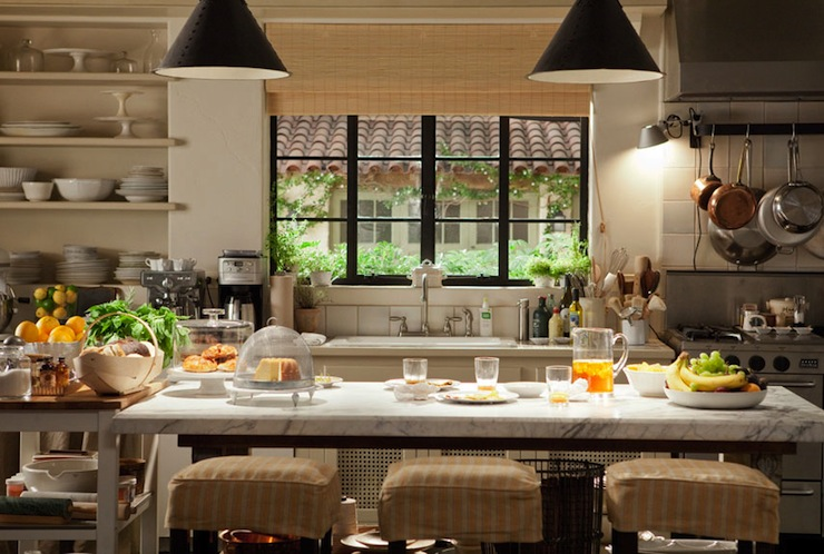 It's Complicated Kitchen - Transitional - kitchen - House Beautiful