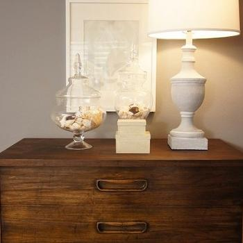 White Urn Lamp, Transitional, bedroom, Turquoise LA