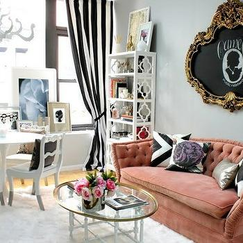 living rooms - cameo, cameo wall art,  LOVE this living room - LOVE cameos!
