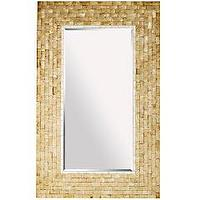 Mirrors - Product Details - Gold Capiz Floor Mirror - gold, capiz, floor mirror
