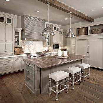 Reclaimed Wood Countertops, Contemporary, kitchen, The Owen Group