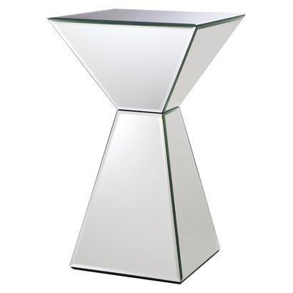 Tables - Mirrored Pyramid Living Room Accent Side or End ... : Target - mirrored, pyramid, side, table