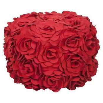 Seating - Decorative Dia Pouf Venetian Red : Target - dia, pouf, venetian, red