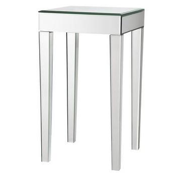 Tables - Mirrored Side Table : Target - mirrored, side, table