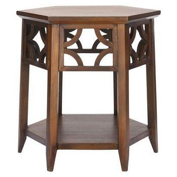 Tables - Connor Hexagon End Table - Brown : Target - connor, hexagon, table