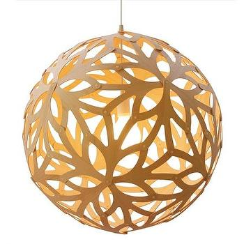 Lighting - Floral Pendant - Extra Large by David Trubridge for $3680 - floral, pendant