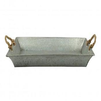 Decor/Accessories - Rope Handle Tray - Tabletop - Accessories | Jayson Home - rope, handle, tray