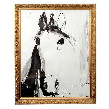 Art/Wall Decor - Horse Head Drawing by Jenna Snyder-Phillips - horse head, jenna snyder-phillips, art