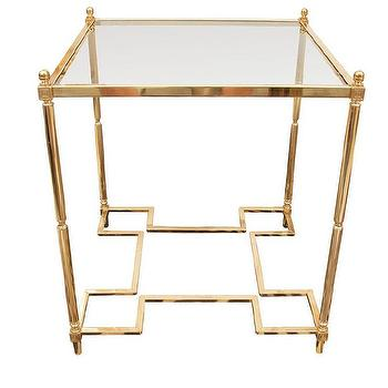 Tables - Brass Coffee Table - brass, coffee table