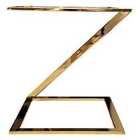 Tables - Nickel Side Table - nickel, z, table