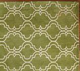 Rugs - Scroll Tile Rug - Green | Pottery Barn - green, scroll, rug