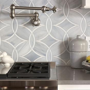 Ann Sacks KItchen Backsplash, Contemporary, kitchen, Exquisite Kitchen Design