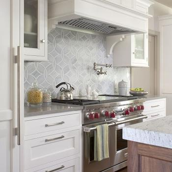 Ann Sacks Kitchen Backsplash, Transitional, kitchen, Exquisite Kitchen Design