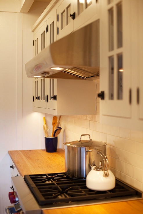white kitchen cabinets with butcher block countertops traditional kitchen kruger design studio. Black Bedroom Furniture Sets. Home Design Ideas