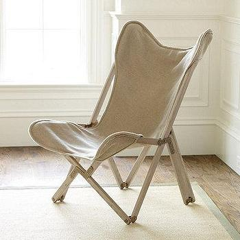 Seating - Butterfly Folding Chair | European-Inspired Home Furnishings | Ballard Designs - butterfly, folding, chair