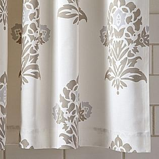 Bath - Jaipur Shower Curtain | Serena & Lily - bark, jaipur, shower curtain
