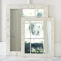 Mirrors - Cyprus Bone Inlay Mirrors | Serena & Lily - cypress, bone, inlay, mirror