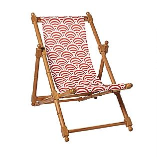 Seating - Poppy Soleil Sling Chair | Serena & Lily - poppy, soleil, sling, chair