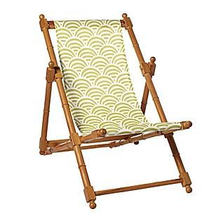 Citrine Soleil Sling Chair, Serena & Lily