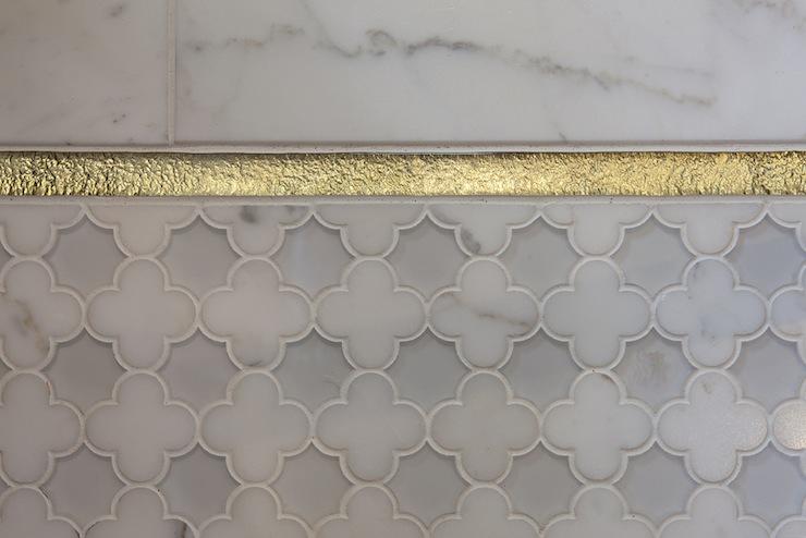 Quatrefoil Tile Contemporary Bathroom Artistic