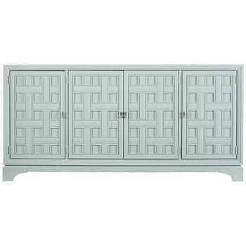 Storage Furniture - Stanley Signature Furniture Continuum Buffet Ocean - continuum, buffet, ocean