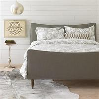 Bedding - DwellStudio Watercolor Smoke Duvet Cover Set - dwell studio, watercolor, smoke, duvet, set