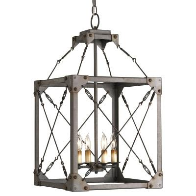 Lighting - Currey and Company Salvage Lantern - currey and co, salvage, lantern