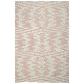 Capel Rugs Junction Pink Wool Rug