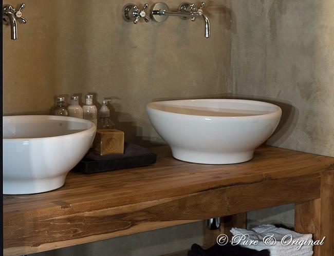 Glasplaat Douche Plaatsen ~ Rustic Bathroom  Country  bathroom  Pure & Original