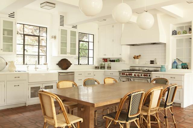 terracotta kitchen floor transitional - photo #34