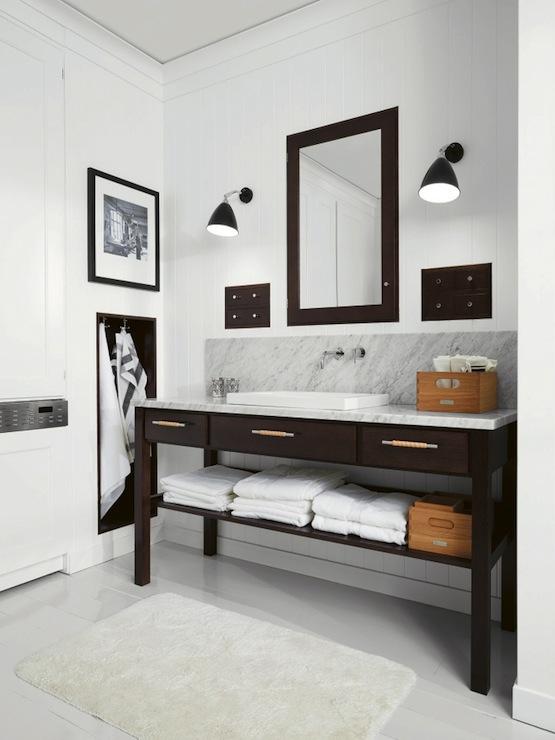 Espresso vanity contemporary bathroom kvanum for Espresso vanity bathroom ideas