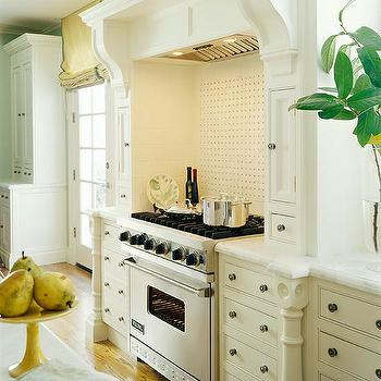 Ivory Kitchen Cabinets, Traditional, kitchen, Traditional Home