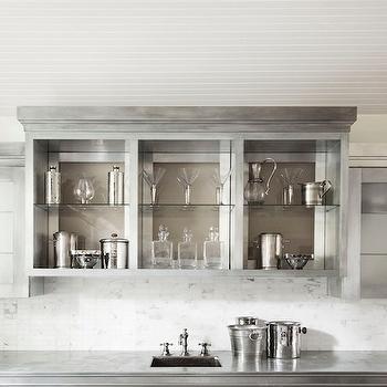 Beadboard Ceiling, Transitional, kitchen, Denton House Design Studio