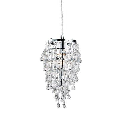 Eurofase Lighting 12260-0 Vidal Mini Pendant, Chrome, Lighting Universe