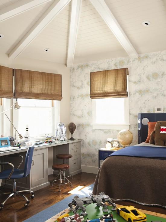 Dual Desks Contemporary Boy S Room Tim Barber