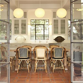 terracotta kitchen floor transitional - photo #26