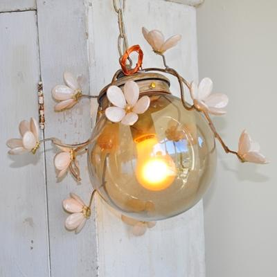 Lighting - Rachel Ashwell Shabby Chic Couture Globe Branches Twig Light - twig, light