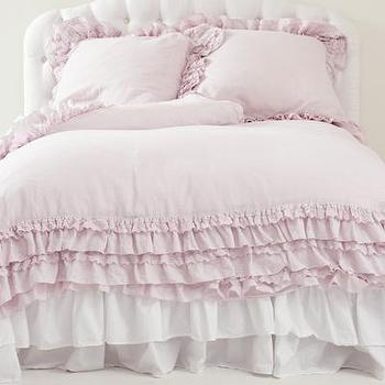 Bedding - Rachel Ashwell Shabby Chic Couture Petticoat Blush Collection - petticoat, blush, collection