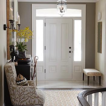 Elegant foyers design decor photos pictures ideas for Annmarie ruta elegant interior designs