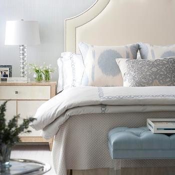 Lucite Bench, Contemporary, bedroom, Muse Interiors