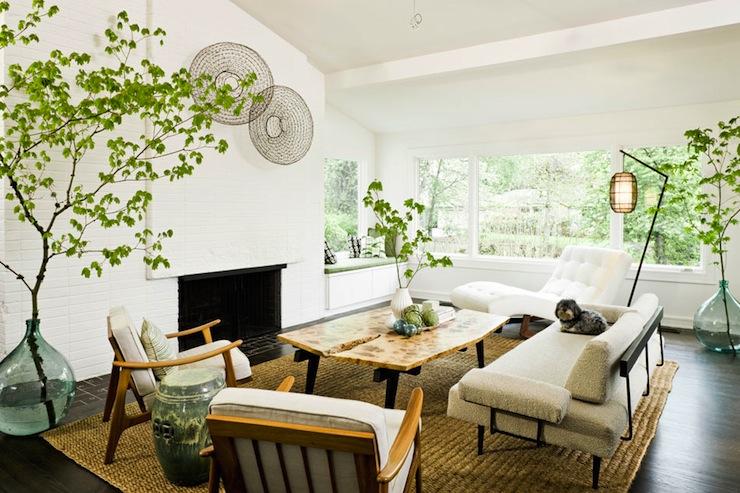 Mid Century Modern Living Room Vintage Living Room