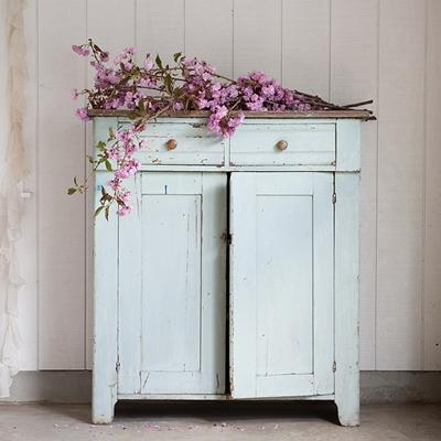 Rachel Ashwell Shabby Chic Couture, Pale Green Cabinet, SOLD