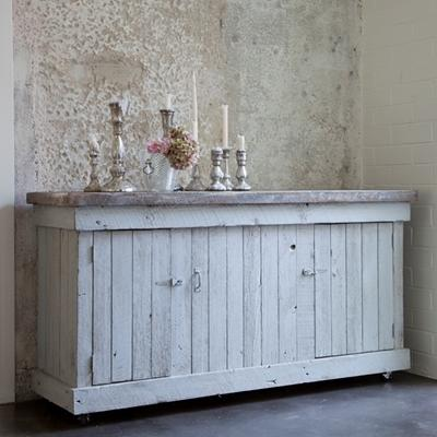 Storage Furniture - Rachel Ashwell Shabby Chic Couture Carmine Cabinet - carmine, cabinet