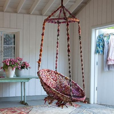 Seating - Rachel Ashwell Shabby Chic Couture Gypsy Swing - gypsy, swing
