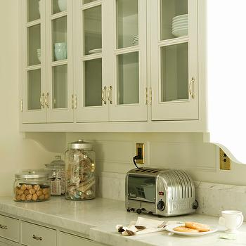 Glass Front KItchen Cabinets, Traditional, kitchen, Tim Barber