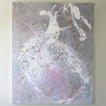 Art/Wall Decor - Laurence Amelie Painting of Tutus - laurence, amelie, tutus, art
